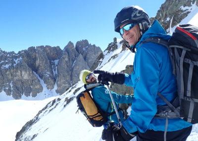 Raid ski randonnée Cerces - Sur le vif