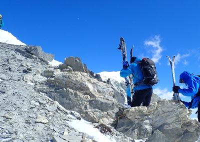 Raid ski randonnée Cerces - ON va où là?
