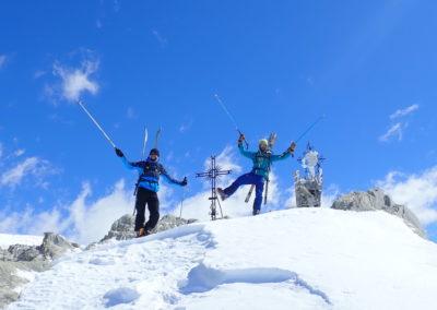Raid ski randonnée Cerces - Pointe des Cerces