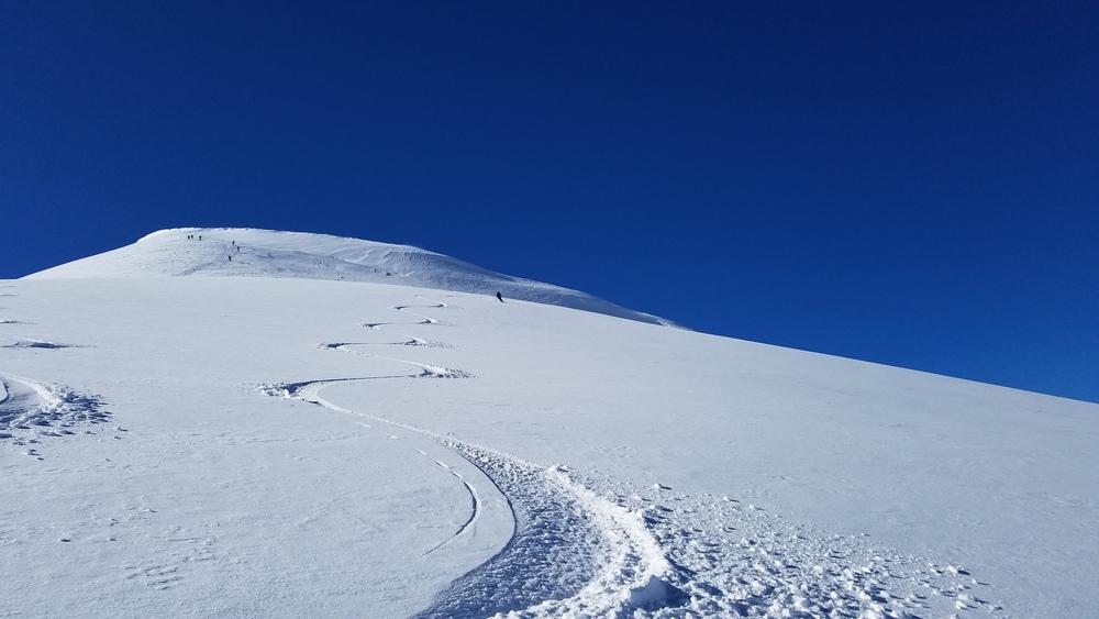 Ski d'été Mont Rose - Mmmmm la bonne popow!