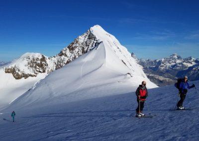 Ski d'été Mont Rose - Ombres filantes