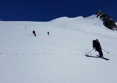 Ski d'été Mont Rose - Ski en bande