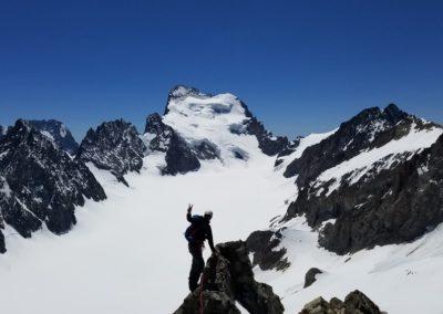 Arête sud Glacier Blanc - La grande classe