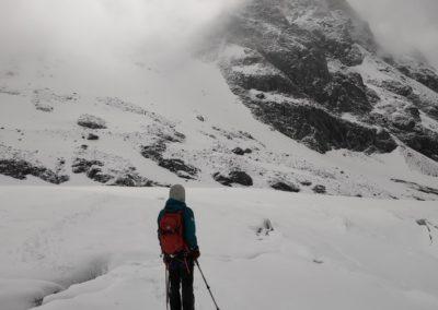 Pic d'Arsine - Jeu de lumière sur le Glacier