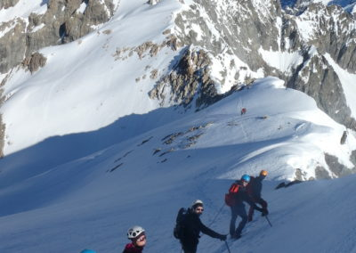 We initiation alpinisme - Descente du Pic d'Arsine