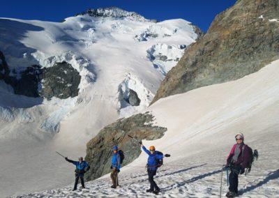 Initiation découverte alpinisme - Descente