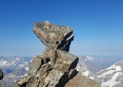 Traversée Pavé Meije Orientale - Statue