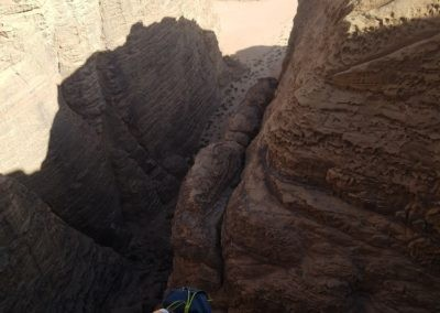 Zernouk El Daber - Sur fond de canyon