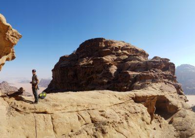 Al Thalamiyah - Sortie du canyon d'Al thalamiyah