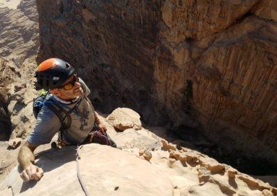 Al Thalamiyah - Vue sur le canyon d'Al thalamiyah