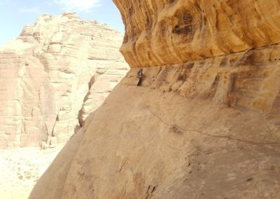 Barrah canyon - Storm - la traversée en IV