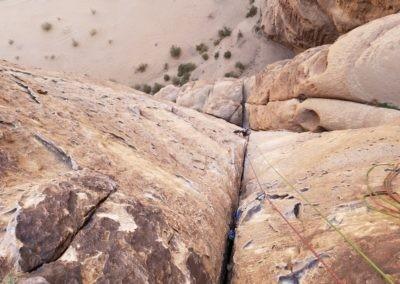Barrah canyon - Merlin's wand - 3ème longueur