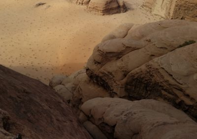 Barrah canyon - Hidden crack et le désert