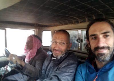 Barrah canyon - Le père d'Atayek au pilotage