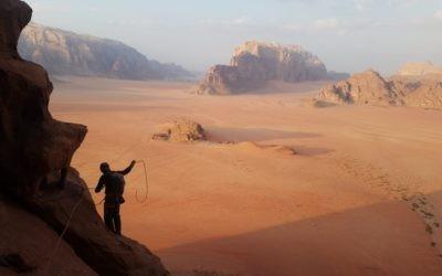 Escalade Jordanie – Wadi Rum