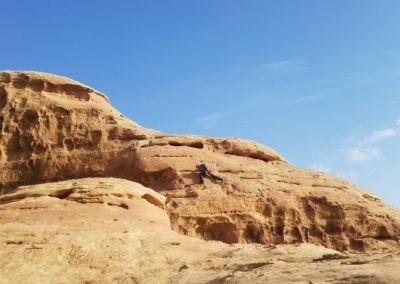 Wadi Rum - Voie Bédouine - Désescalade expo made in wadirum
