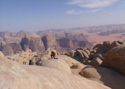 Al Thalamiyah - Sur les dômes sommitaux