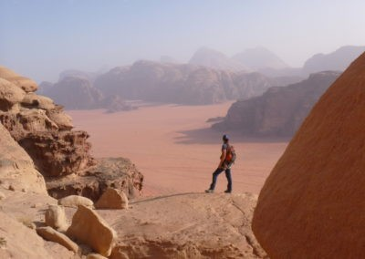 Wadi Rum - Voie Bédouine - Dans la voie d'Ali au Khazali