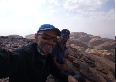 Wadi Rum - Voie Bédouine - La cordée