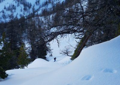Raid ski - Tête de Miéjour