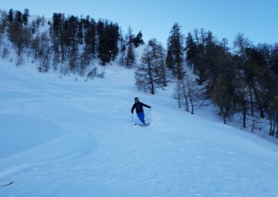 Raid ski Tête de Miéjour - Popow alert!