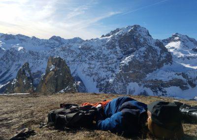 Raid ski - Croix Provençale - Faut savoir attendre
