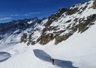 Raid Ski - Col Bellino - Un peu sous le col