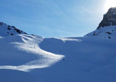 Raid Ski - Col Bellino - Du bon ski dans le val Varaita