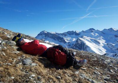 Raid Ski - Monté Vigna - Patience, neige en cours de moquetisation