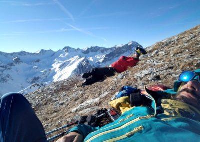 Raid Ski - Monté Vigna - L'art de la sieste tout terrain