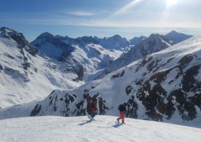Raid Ski - Pic de Malacoste - Dans la montée