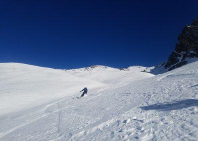 Raid Ski - Pic de Malacoste - Vallon en top popow