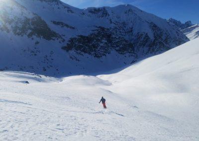 Raid Ski - Pic de Malacoste - Antoine se fait plaiz