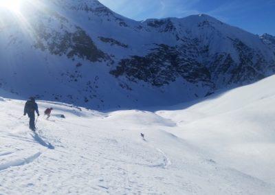 202Raid Ski - Pic de malacoste - Et le reste de la troupe aussi!