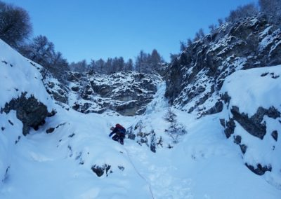 Colère du Ciel - Sous la neige
