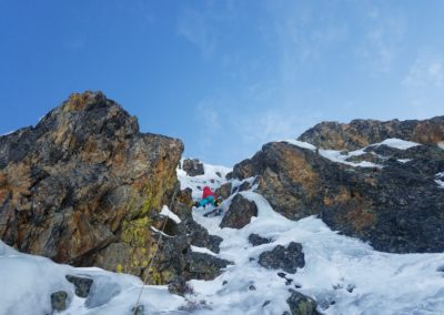 cascade glace Alpe Huez - Secteur petit Ben Nevis