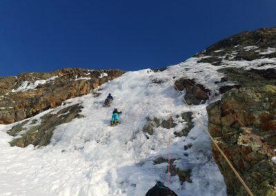 cascade glace Alpe Huez - Ateliers au soleil