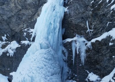 Cascade glace - Argentera - Altro volto del pianeta