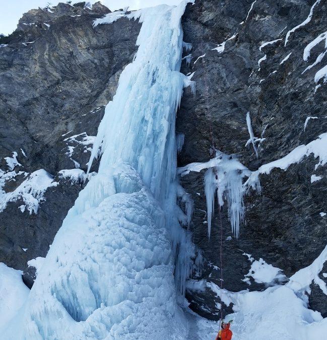 Cascade de glace – Argentera