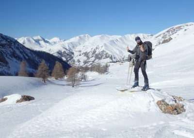 Raid ski - Col de Stroppia - Ouhhh yeahh!