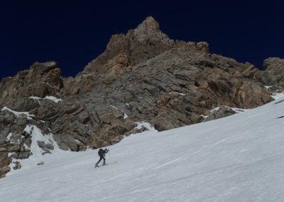 Raid ski - Col de Stroppia - Vinc' allonge le pas