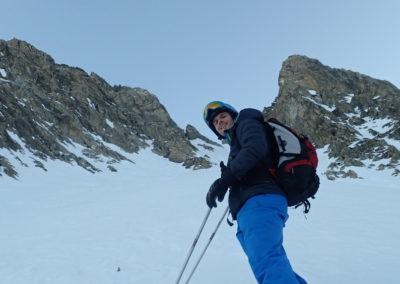 Raid ski - Col de Stroppia - Q au pied de l'Infernetto