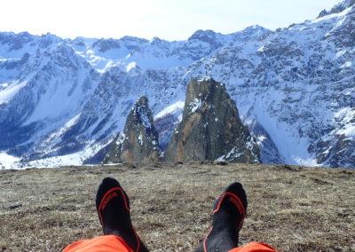 Raid ski - Eighier - Prendre son pied