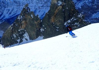 Raid ski - Eighier - Q dans la quetteMo