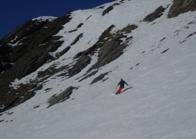 Raid ski - Eighier - Antoine