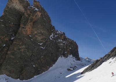 Raid ski - Eighier - Ca rentre pas dans le cadre!