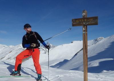 Raid ski - Bellino - Ca c'est fait!