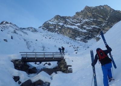 Raid ski - Bellino - Petite remontée cadeau!