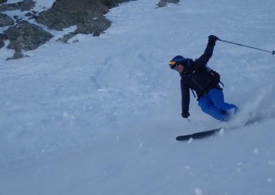 Raid ski - Tête de Malacoste - Ma oui, c'est tout bon!