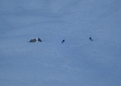 Raid ski - Tête de Malacoste - Le kif